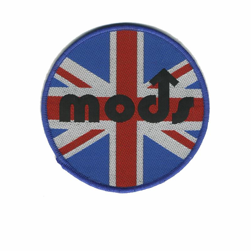 Aufnäher - Mods - Mod Union Jack - Patch