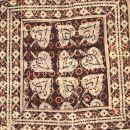 Stofftasche - Muster 3 - beige-schwarz-weiß - Stoffbeutel
