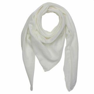 Baumwolltuch - weiß - quadratisches Tuch