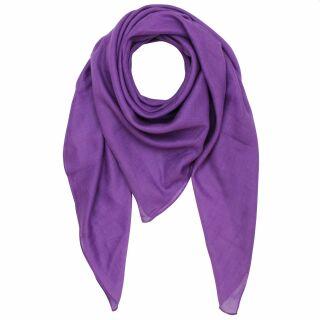 Pañuelo de algodón - magenta - Pañuelo cuadrado para el cuello