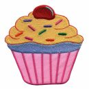 Aufnäher - Muffin - pink - Patch