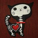 Patch - Skeleton Cat