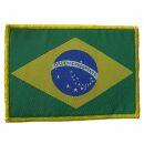Aufnäher - Brasilien - Flagge - Patch