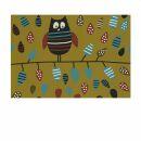 Postcard - Owl