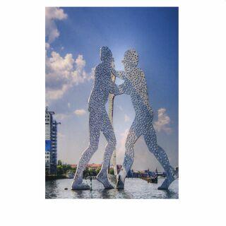 Postkarte - Berlin - Molecule Man
