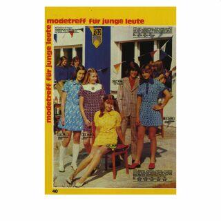 Postkarte - DDR Versandhauskatalog - Modetreff für junge Leute - Nr. 098 - DDR Retro