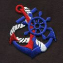 Patch - Anchor - blue-red