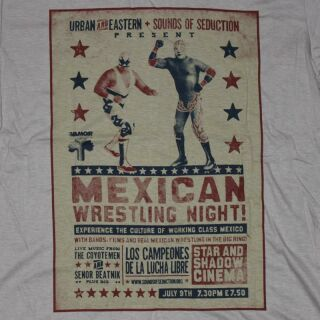 T-Shirt - Mexican Wrestling Night