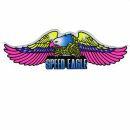 Adhesivo - Águila Speed Eagle a la iezquerda