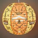 Paper Lantern - Bees & Keys