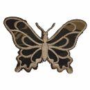 Parche - Mariposa - beige marrón