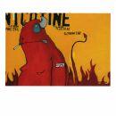 Postcard - Devil smoking - Johan Potma
