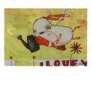 Postal - Love - Johan Potma