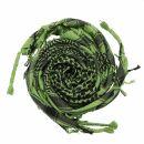 Palituch - grün - schwarz 03 - Kufiya PLO Tuch