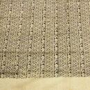 Baumwolltuch - Blumenmuster 3 beige - quadratisches Tuch