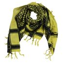 Pañuelo de estilo Kufiya - Keffiyeh - amarillo -...