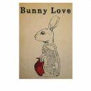 Postkarte - Bunny Love - Henri Banks