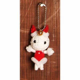 Bambolina voodoo - portachiavi - voodoo doll - Honey Bunny