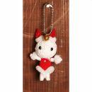 Voodoo Doll - Honey Bunny - Keychain