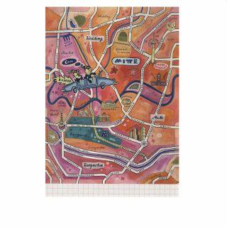 Postkarte - Berlin - Mitte