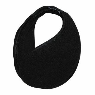 Ohrenwärmer - Ohrenschützer - Ohrwärmer - schwarz - groß