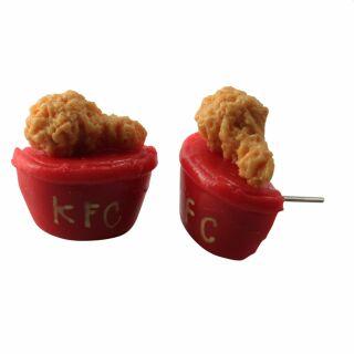 Ohrringe - Chicken-Box