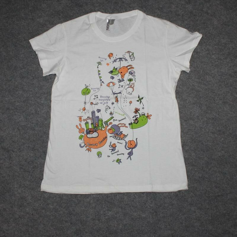 Lady Shirt - Women T-Shirt - Bouncy Bunnies