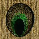 Patch - Eye on the tail of a Peacock