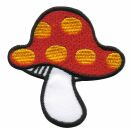 Aufnäher - Pilz - Fliegenpilz gelb-rot-weiß -...