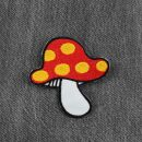 Patch - Mushroom - Fly agaric yellow-red-white