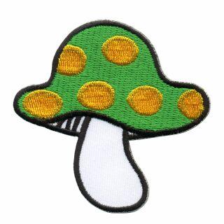Parche - Hongo - Amanita Muscaria verde