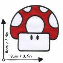 Patch - Fungo - fungo velenoso Toad rosso - toppa
