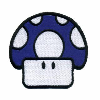 Parche - Hongo - Amanita Muscaria Toad azul