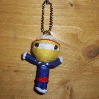 Voodoo Doll - Masked man - Keychain