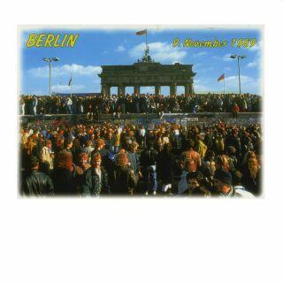 Postkarte - Berlin - Grenzöffnung