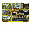 Postkarte - Berliner Sehenswürdigkeiten