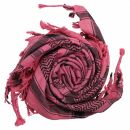 Palituch - Totenköpfe mit Säbel pink - schwarz...
