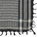 Bandana kefiah palestinese 100% cotone 55x55 cm - nero -...