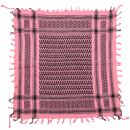 Bandana kefiah palestinese 100% cotone 55x55 cm - rosa -...