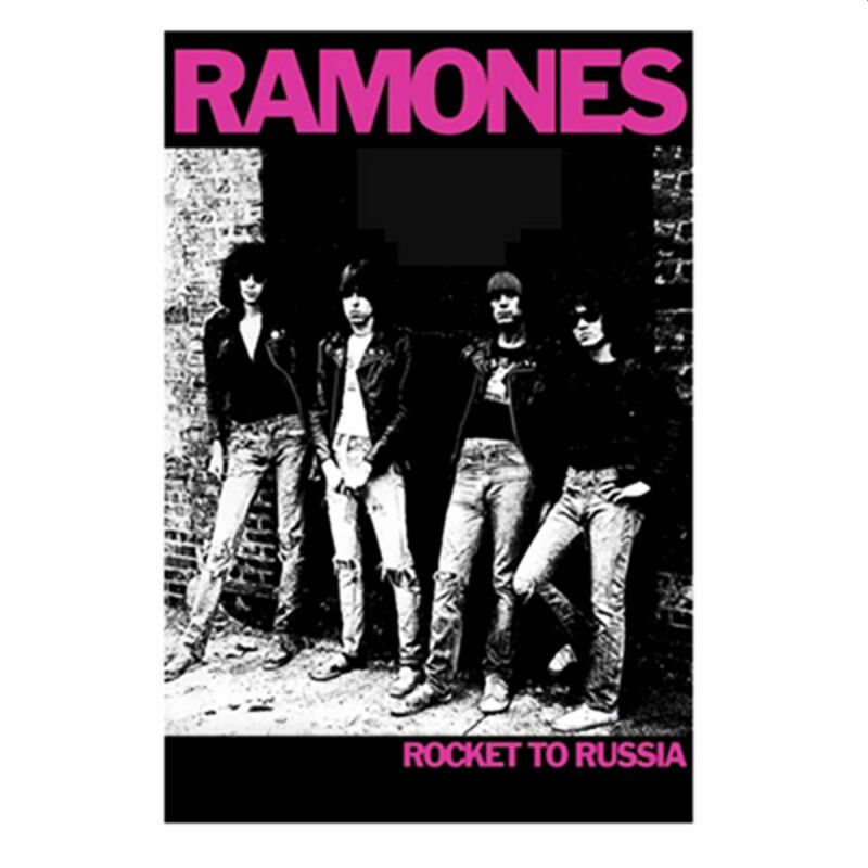 Poster - Ramones - Rocket To Russia