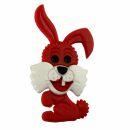 Pin - Bunny - red - Badge