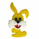 Pin - Bunny - yellow - Badge