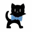 Broche - Gato - negro-azul - Pin
