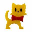 Pin - Cat - yellow-red - Badge