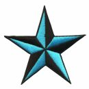 Patch - Star black-light blue