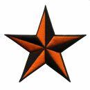 Patch - Star black-orange