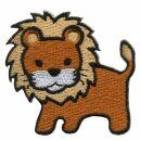 Patch - Lion - brown-ocher