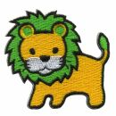 Patch - Lion - yellow-green