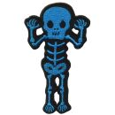 Patch - Scheletro - sfrontato - blu-nero - toppa