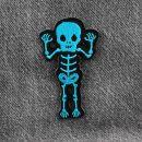 Patch - Bold Skeleton - blue-black